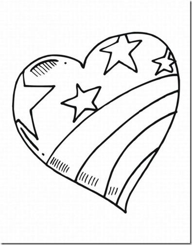 Dibujos de corazones para imprimir y colorear. | Colorear dibujos ...