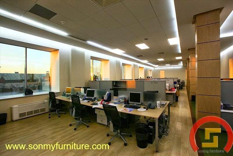 Mẫu thiết kế nội thất văn phòng SMF727