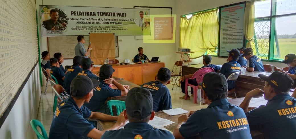 BBPP Batangkaluku Gelar Pelatihan Tematik Berbagai Komoditi di Kolaka