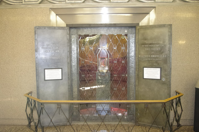 This is where they keep the heart of Saint André Bessette