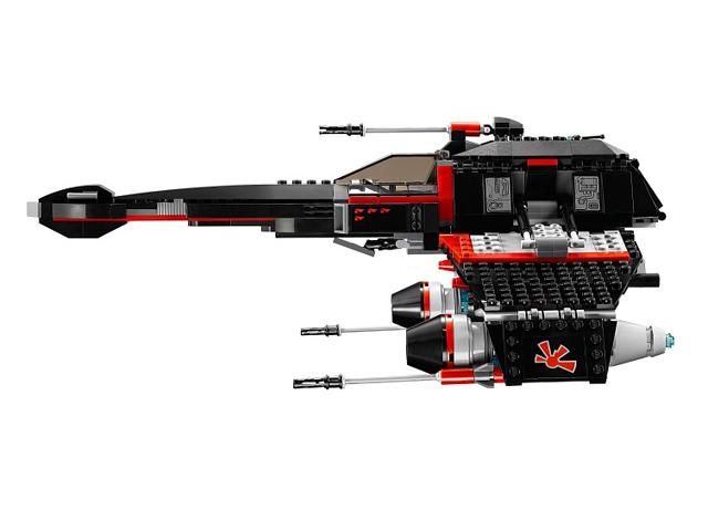 75018 レゴ JEK-14ステルス・スターファイター