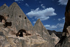 We saw some of the sights around Cappadocia on a guided tour.