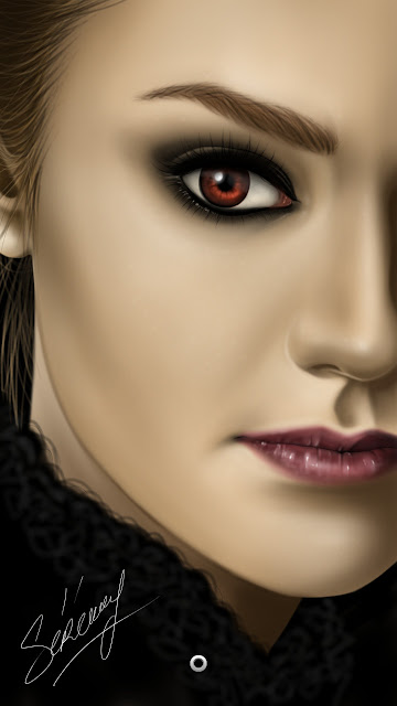 Digital Painting - Volturi Twilight - Galaxy Note 2