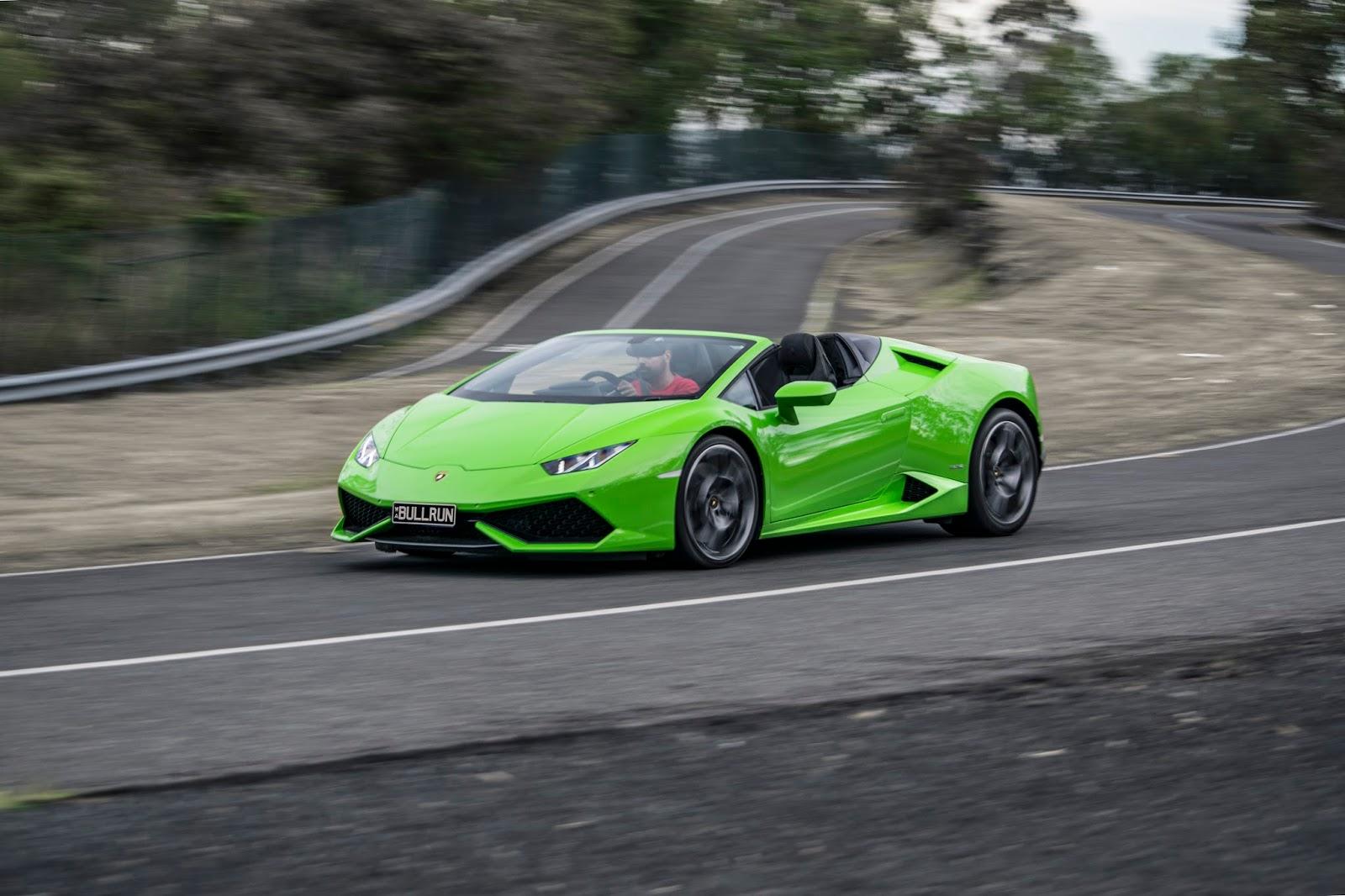 Lamborghini Huracan LP610-4 Spyder 2016