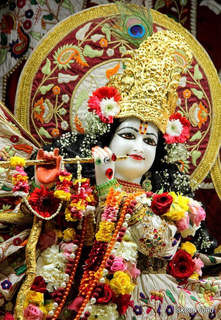 ISKCON Juhu Sringar Deity Darshan on 2nd Jan 2017 (14)