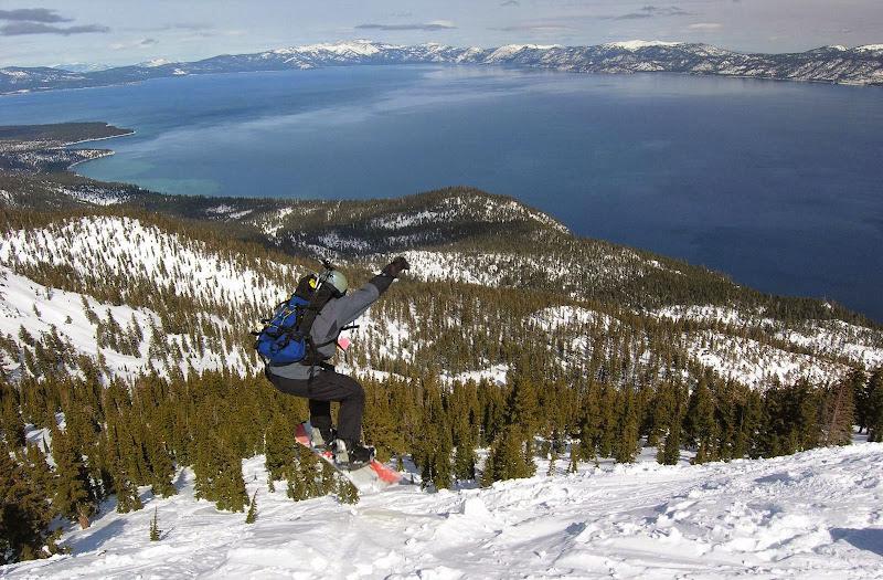 Lake Tahoe from Jake's Peak