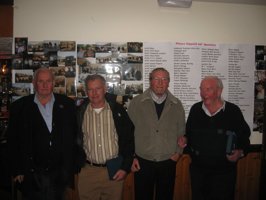 Committee Members: Patsy Gallagher, Irvin Moran, Thomas Corrigan and Martin McLoughlin