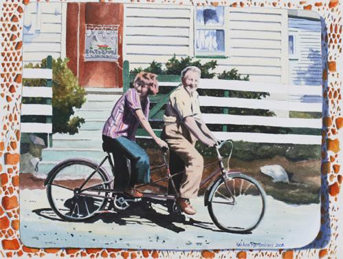 Double Double. Newfoundland Artist Keli-Ann Pye-Beshara