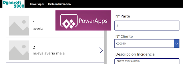 Como usar una Entidad Virtual PERSONALIZADA de Business Central en Power Apps
