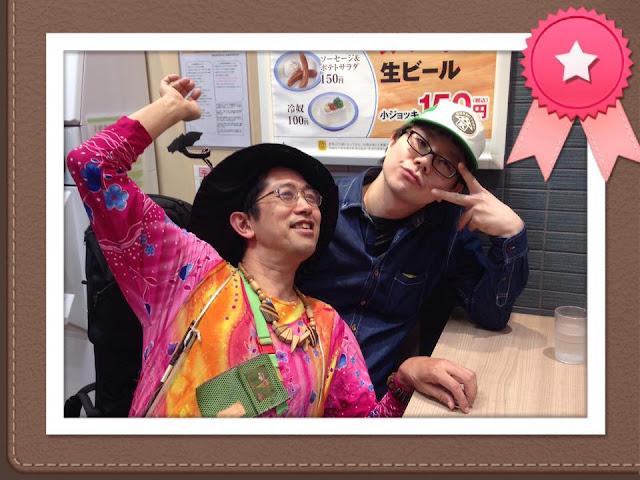 極秘ミッション。サプライズで出演、吉原悲劇さんのお誕生日を祝う。(池袋GEKIBA)