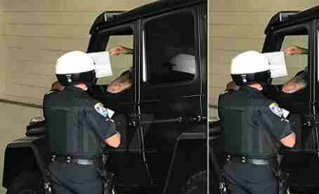 Justin Bieber Pulled Over For Using Cell Phone While On Wheels