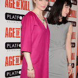 OIC - ENTSIMAGES.COM - Gretchen Egolf and Lysette Anthony attend the Age of Kill - VIP film Screening inLondon on the 1st April 2015.Photo Mobis Photos/OIC 0203 174 1069