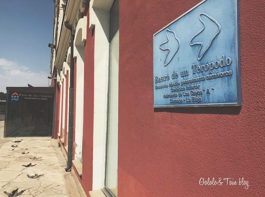 Entrada Casa de las Ciencias de Logroño