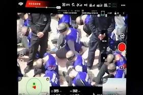 Ada Video Dugaan Penyiksaan Muslim Uighur, China Masih Berkelit