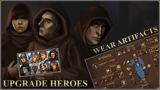 Castle fight: Heroes 3 medieval battle arena Mod Apk Download For Android 2