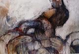 rebellion / huile toile / 130X100 / 1999