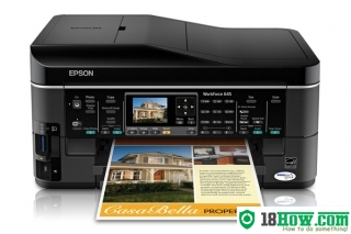 How to Reset Epson WorkForce 645 printing device – Reset flashing lights problem