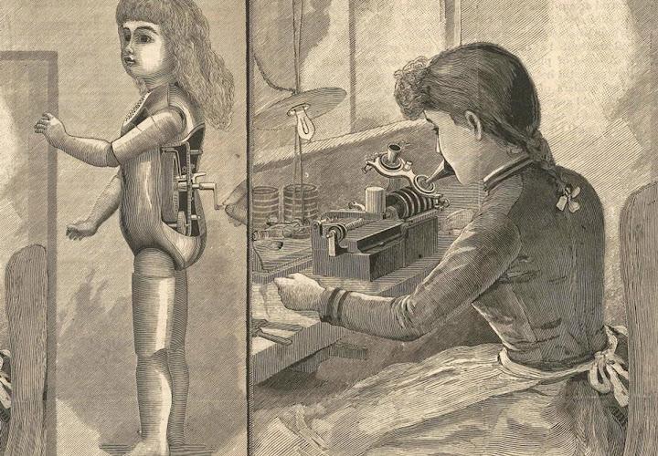 Muñecas parlantes, el proyecto poco conocido de Thomas Alva Edison