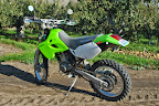 1999 Kawasaki KLX300 - Cashmere Shop Build
