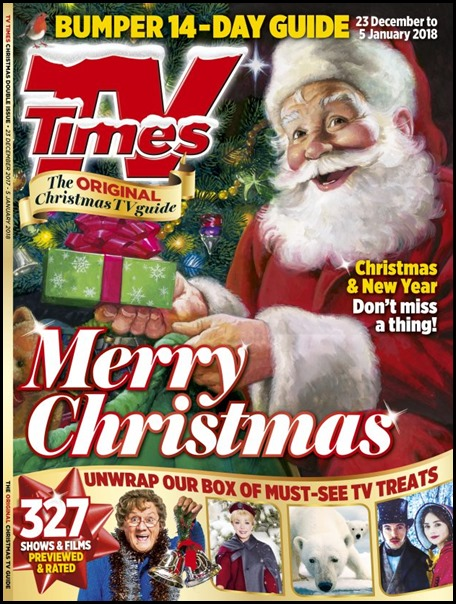 TV Times Christmas Cover 2017