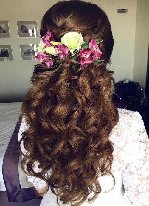 Best Wedding Hairstyles for Long Hair 2017 8