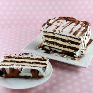 Ready in 5 Minutes! EXTRA Tasty Ice Cream Cake.