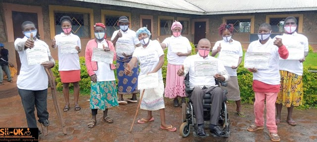 SII-UK empowers persons with disabilities in Njinikom on entrepreneurial skills