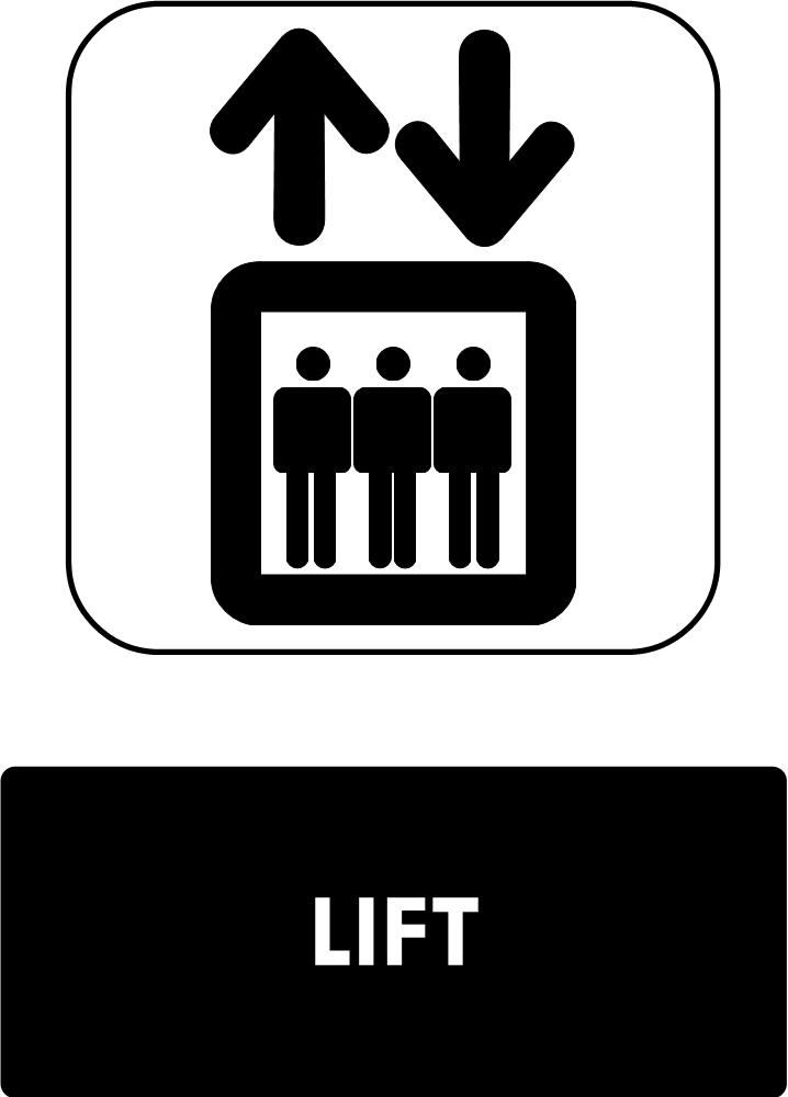 Rambu Lift