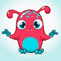 Cartoon Funny Monster Illustrations Free Download Vector CDR, AI, EPS and PNG Formats