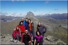 Pico Anayet mendiaren gailurra 2.574 m. -- 2015eko irailaren 19an