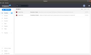 Criptext linux client
