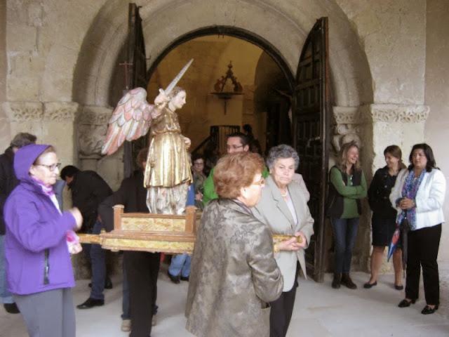 Misa y procesión de San Miguel en Sotosalbos, Segovia