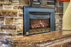 Wiarton Brown Fireplace