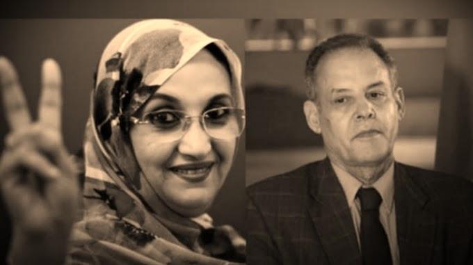 La elegía de la activista Aminetu Haidar al fallecido líder saharaui Mhamed Jadad