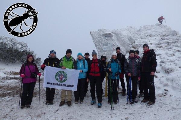 Nasza grupa na szczycie