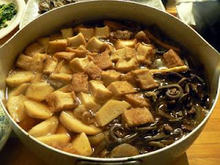 ゼンマイの煮物
