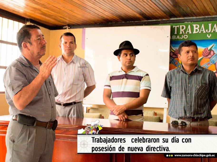 TRABAJADORES DEL GOBIERNO PROVINCIAL CELEBRARON SU DÍA CON POSESIÓN DE NUEVA DIRECTIVA