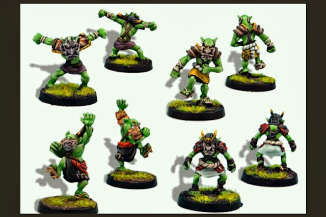Goblins Blood Bowl Greebo Samurais