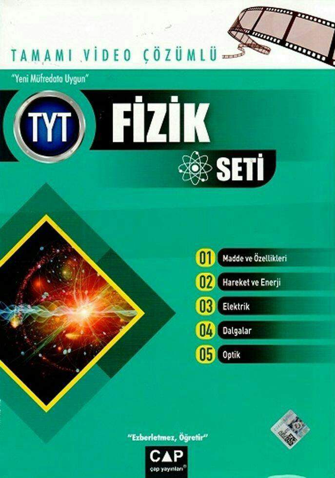 Çap Yayınları YKS TYT Fizik Seti Tamamı Video Çözümlü (2019-2020)