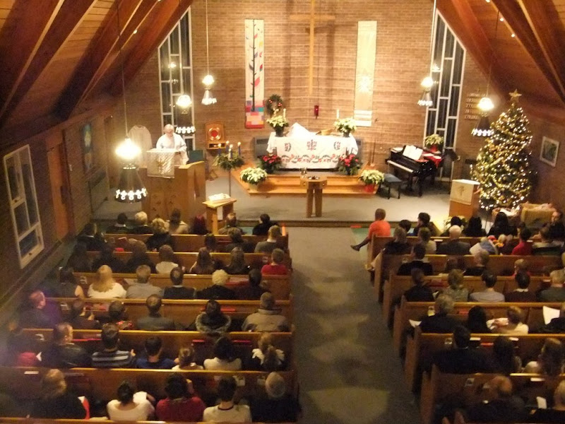 Image of Lutheran Worship, congregating about the Means of Grace – Grace Ev. Lutheran Church, Oakville, ON