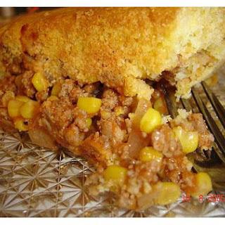 Jiffy Baked Corn Casserole.