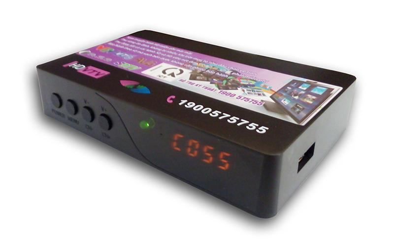 Đầu thu kỹ thuật số mặt đất DVB T2 HD-555