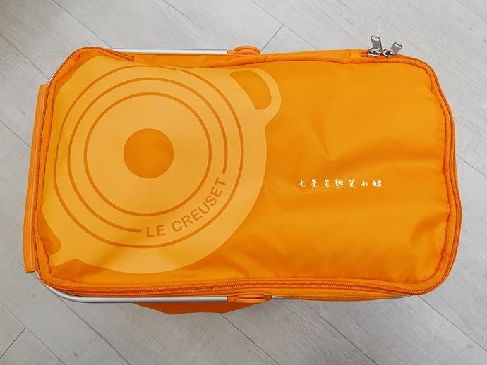 24 7-11 法國 Le Creuset 食尚集點送 食尚餐具組、雙層微波便當盒、食尚兩用餐墊、食尚保冷提籃