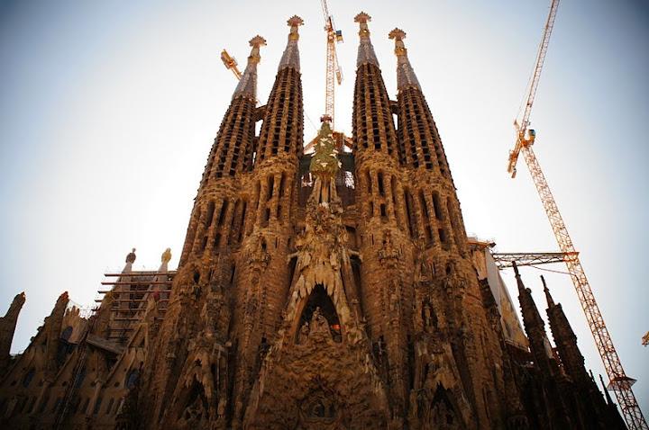世界遺産サグラダ・ファミリア(スペイン)