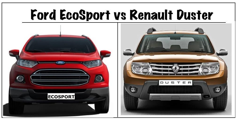 ford ecosport vs renault duster fight between 2 mini suvs html autos weblog. Black Bedroom Furniture Sets. Home Design Ideas