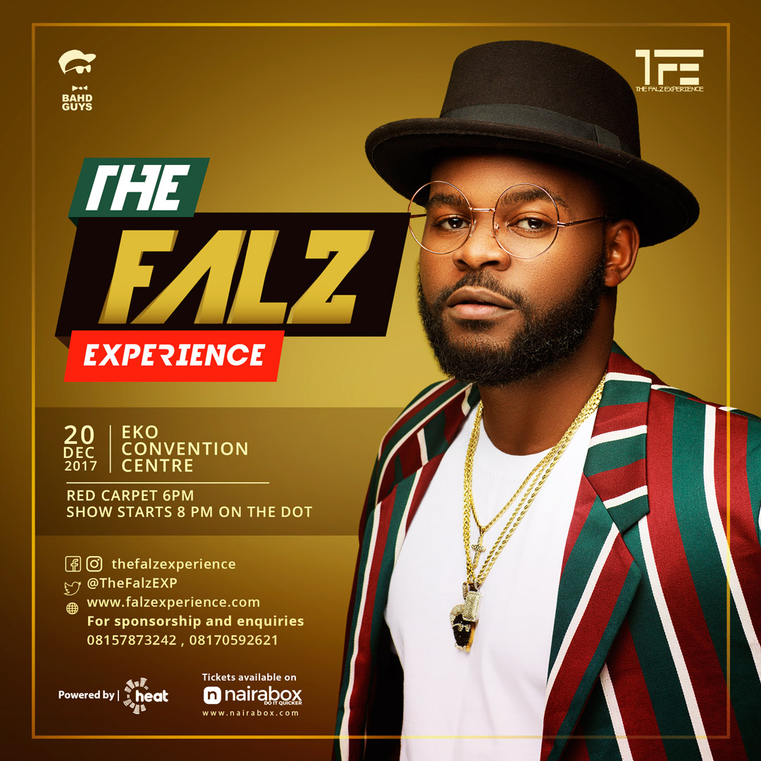 Falz's First Ever Concert, 'The Falz Experience' to Gulp N300 Million