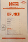 photo of the brunch menu