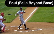 Foul (Lands Past Base)
