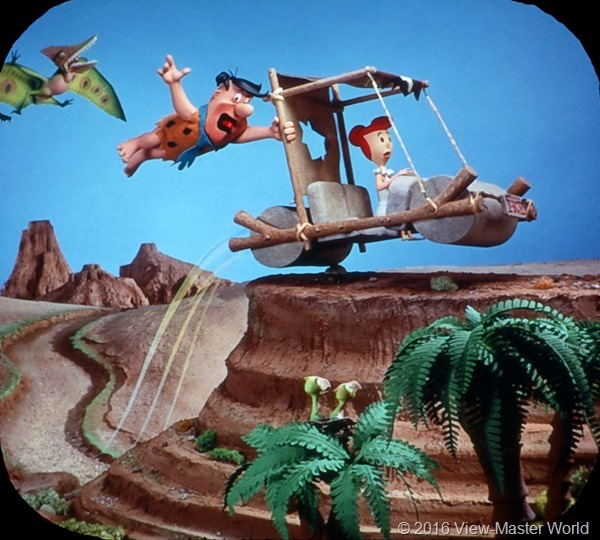 View-Master The Flintstones (B514) Reel 3 Scene 4