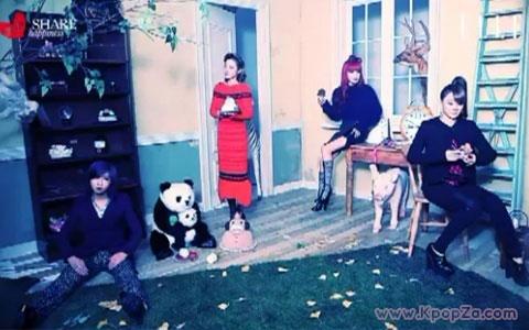 """สาวๆ YG ในเบื้องหลังโปรเจ็คการกุศล """"Share Happiness"""""""